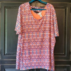 Catherines, 3X, Lined Blouse